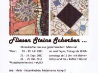 Mosaikworkshop Juli-Oktober 2011